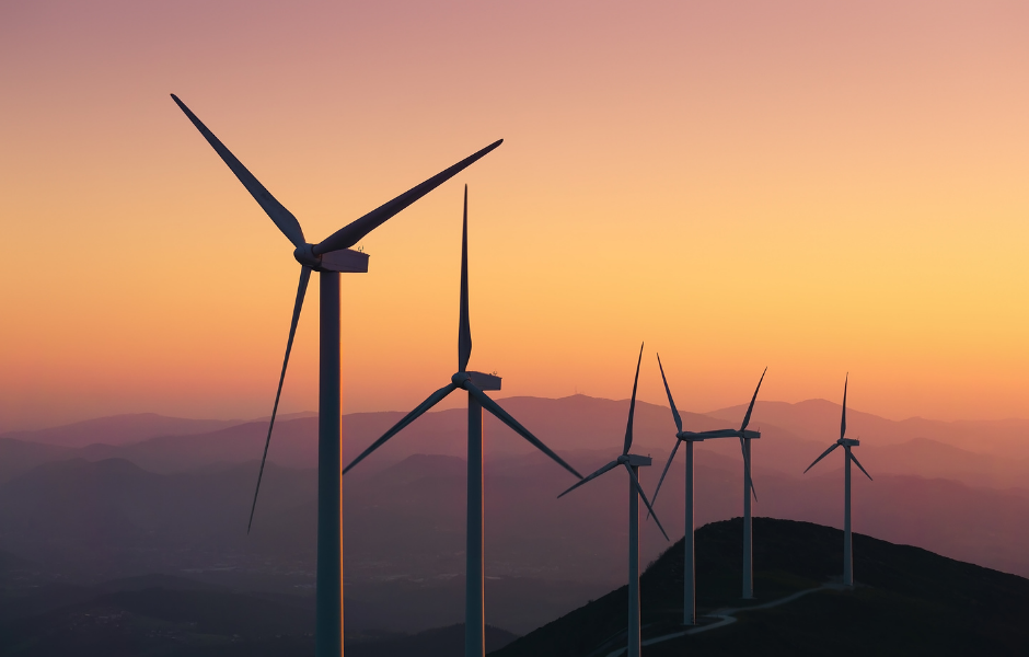 windmill for renewable energy consulting
